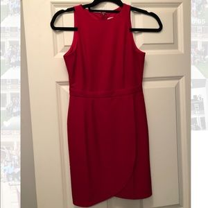TOBI red dress